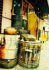 Cans (Roon & Beks) Tags: china colour eos xpro cross shanghai kodak chrome elite process 630 extra