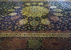 Ardabil Carpet, detail of center