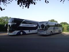 Scherer Reisen Coaches (5asideHero) Tags: mercedes benz coach reisen dt setra tourismo scherer s431