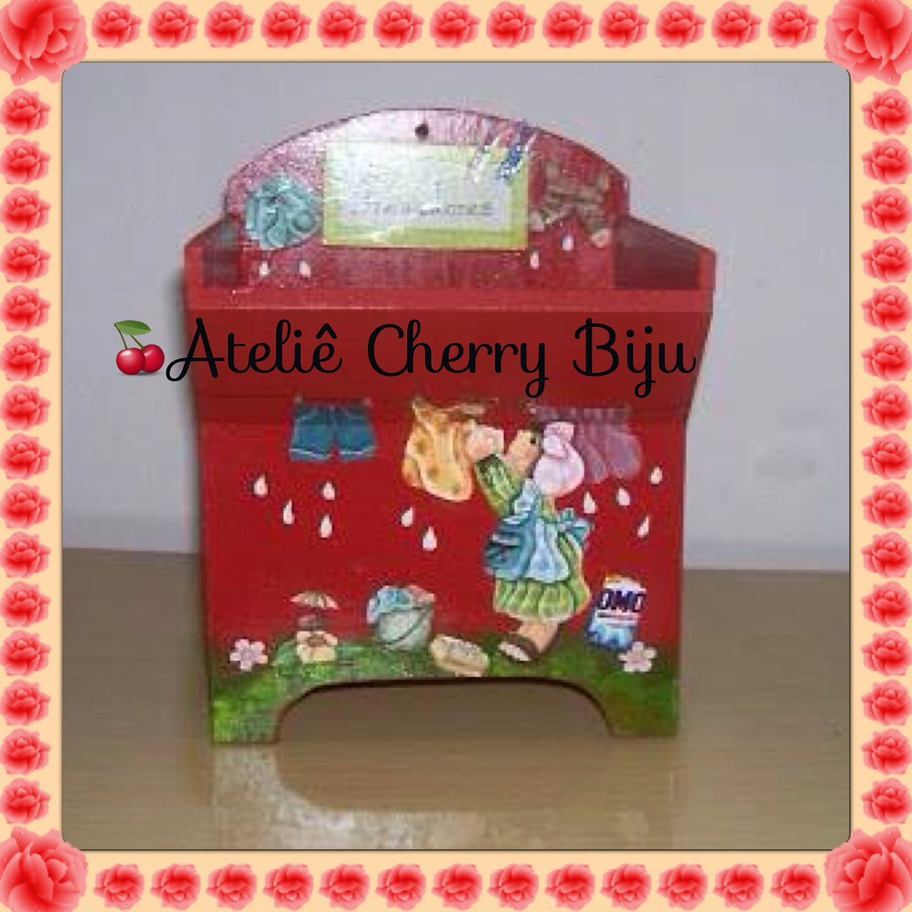 Biju (ateliecherrybiju) Tags: artesanato biscuit reciclagem madeira  #B41719 1024x1024