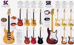 1979 Yamaha Catalog SC Series page (Freebird_71) Tags: japan vintage yamaha electricguitar sc1200