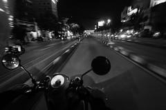 Buncit Busway (alchroniclez) Tags: street bike indonesia jakarta biker 1022mm buncit gatsu scoopy kalibata fromthebike mampang bangder