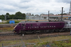 York - Flying Scotsman 91101 Leaves York Station 2 (Le Monde1) Tags: york train nikon steam railways nrm nationalrailwaymuseum locomotives eastcoast flyingscotsman gwr lms yorkstation lner d7000 lemonde1 no91101
