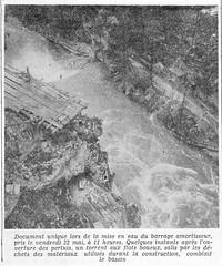 barrage du chatelot 1952-1953 (112) (jeanclaude.uzzeni) Tags: barrage barrageduchâtelot constructionbarrage doubs lac coursdudoubs frontièreentrelafranceetlasuisse massifdujura lacdemoron moron hydroélectricité barragevoûte barboux planchettes brenets rolleiflex