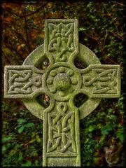Abney Park 2 (barrycross) Tags: park london cross cemetary victorian knot burial celtic technique orton abney wwwbarrycrossphotographycom