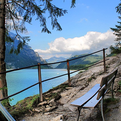Klöntalersee, Glarus. Although a little bit distant from central Switzerland, the region Glarus is a very nice place to be. Especially if you are interested in seeing the extraordinary swiss landscapes.