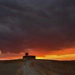 Sunset on fire thumbnail