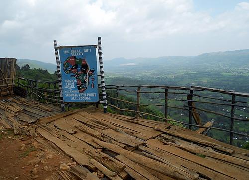 overlook in Great Rift Valley