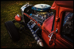 Edelbrock Rat Rod (Explore) (Konaflyer) Tags: hot art car hawaii nikon rat automobile antique rod kailua edelbrock alienskinsoftware d7000 markpatton vision:mountain=0581 vision:sky=0509