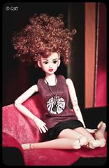 Mikiko (astramaore) Tags: girls red orange fashion toy doll auburn redhead end momoko