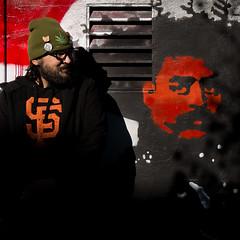 (-will wilson-) Tags: sanfrancisco california street streetart man public square graffiti stencil mural x missiondistrict themission clarionalley emilianozapata 2013 artlibre squareinthecity
