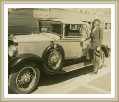 1929 Studebaker Commander and Neysa McMein artist designer a coordinator for studebaker design with five other women (carlylehold) Tags: robert haefner robertchaefner