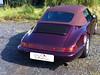 14 Porsche 911-964 mit adaptiertem 993-Verdeckbezug von CK-Cabrio in weinrot-Classic 02