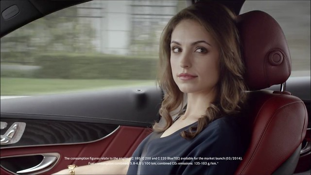woman sexy beautiful video exterior sweet interior ad commercial mercedesbenz luxury coupe prettygirl advertisting cabriolet cclass 2014 c230 c200 2015 c180 c240 youtube c250 4matic c350 c300 2013 c400 c200cdi c220cdi detroitmotorshow roadgirls c320cdi c63amgcoupe naias2014 sindelfingenplant c300bluetechybrid c270cdi northamericaninternationalauto faulwadadvspnauchanges