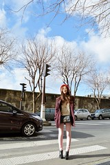 DSC_2077 (Likeabyul) Tags: pink winter red paris asian rouge beige chinese bordeaux korean hues asos streetstyle nafnaf zipia sheinside