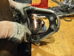 (Mountain Soles & Outdoor Threads) Tags: snowshoe repair atlas snowshoes repairs tubbs
