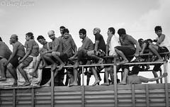 On the rail (Boaz Eapen) Tags: festival birth competition lord krishna handi dahi