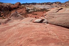 The Valley Of fire State Park - Nevada - 2013 (Mark Bayes Photography) Tags: statepark camping valleyoffire fire farmers hiking nevada musicvideo anasazi sanddunes rockart petroglyphs rockformations visitorcenter captainkirk conglomerates totalrecall airwolf filmhistory claudiacardinale valleyoffirestatepark picnicking firewave limestones burtlancaster leemarvin startrekgenerations shales faulting lakemeadnationalrecreationarea theprofessionals nationalnaturallandmark moapaindianreservation erodedsandstone moapavalley 150millionyearsold valleyoffireroad redsandstoneformations ancientpueblopeoples ageofdinosaurs nevadascenicbyway thevalleyofthegods nevadahistoricalmarker150 prehistoricusers superhelicopterairwolf lanadelreysride complexuplifting extensiveerosion marsscenes theveridianiii