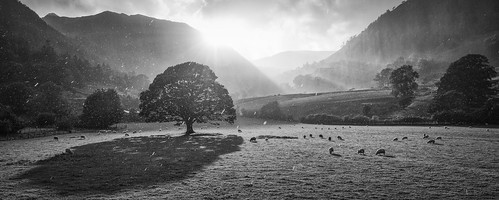 Four Seasons (46382939@N04), photography tags:  d800 lightroom ullswater glencoyne silverefex vision:mountain=0902 vision:outdoor=097 vision:clouds=0686 vision:sky=091 vision:ocean=0682