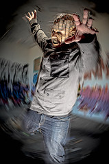 Another Breakthrough (Jaughn Bearen) Tags: portrait fight nikon mask bees alien hell motivation create inspire breakthrough intention raiser bearen jaughn jaughbearen