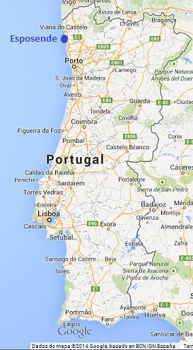 mapa de portugal esposende Esposende   Wiki mapa de portugal esposende