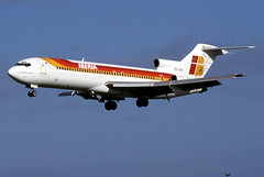 EC-CFA (GH@BHD) Tags: aircraft aviation boeing airliner iberia dublinairport 727 trijet dublininternationalairport eccfa