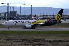 Turkish TC-JHU, OSL ENGM Gardermoen (Inger Bjrndal Foss) Tags: norway boeing turkish osl gardermoen 737 engm tcjhu