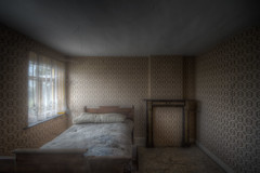 The early bird catches the worm (Ma-Sor) Tags: windows light abandoned bed decay room pillow urbanexploration mauriziosorvillo