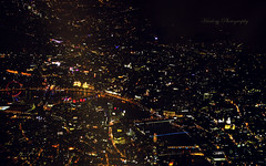 London aerial (Harlory) Tags: above bridge london thames night plane landscape bigeye