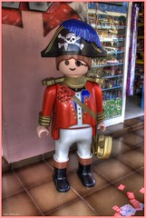 The Pirate (Billy McDonald) Tags: spain lego pirate tenerife toyshop hdr