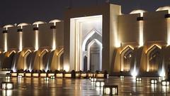Jamea Alemam East Gate -  Doha (Talal A. A.) Tags: 60mm f28 | dn a sgima
