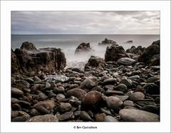 Canico beach..... (bevscwelsh) Tags: longexposure beach pebbles madeira canico olympus1250 olympusem5 srbfilternd3 madeirajan2015