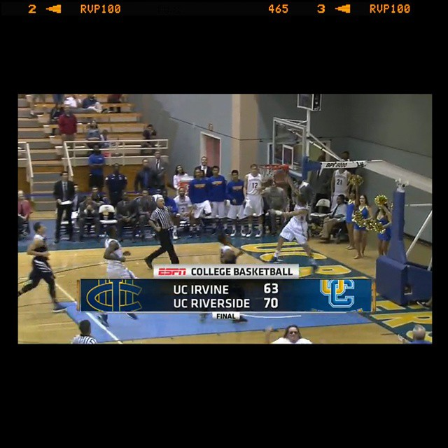 How about some VALENTINEs Day love for @ucrmbb and their #BIGWIN?!  Austin Quick with the exclamation point!