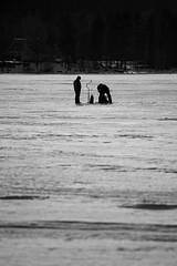 Fishing (maaniemi) Tags: canon 5d mark3 mk3 mark 3 mk markiii mkiii maaniemi tero winter lake päijänne järvi jää pakkanen frost freezing ice kylmä cold sun aurinko