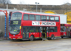 GAL WVL103 - LF52ZMO - PM BUS GARAGE - TUE 2ND FEB 2015 (Bexleybus) Tags: bus london volvo garage 63 route pm gemini peckham tfl p12 goahead wrightbus wvl103 lf52zmo