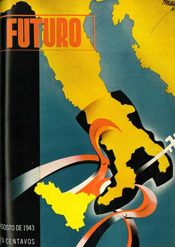 Portada de Josep Renau Berenguer para la Revista Futuro (agosto de 1943)