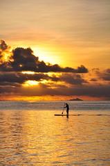 Coucher de soleil sur la plage de Matira (Co2 Cyril Carton) Tags: polynesia nikon borabora 18105 d90 polynesie