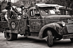 Tow Truck (Metro Tiff) Tags: old vintage rusty towtruck generalmotors portdover friday13th
