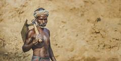 Brick Kiln Stories (anandgovindan) Tags: street travel portrait people india canon 50mm village portraiture labour f18 chennai hardwork oldage tamilnadu southindia labourer 50mmf18 cwc hardship nemam thiruvallur tiruvallur canon600d chennaiweekendclickers anandgoviphotography anandgovindan cwc524