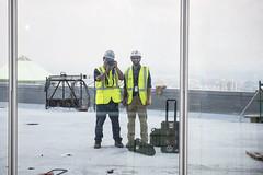4 WTC 57th Floor Terrace June 2013 (Tony Shi, Life) Tags: nyc newyorkcity ny newyork buildings construction realestate worldtradecenter wtc lowermanhattan worldtradecenters downtownmanhattan 4wtc 4worldtradecenter 150greenwich