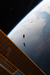 iss047e120574 (NASA Johnson) Tags: school college students solar stem earth satellite science deployment observations array cubesat cubesats