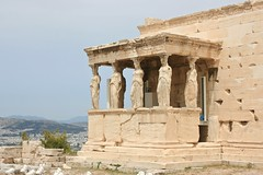 Οι Καρυάτιδες (Brian Aslak) Tags: europe hellas athens greece acropolis attica erechtheion ελλάδα ακρόπολη αθήνα ερέχθειο αττική