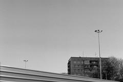 untitled (Anton Zabermach) Tags: urban blackandwhite bw film analog 35mm cityscape fujifilm nikkor acros nikonfe2 selfdeveloped microphen 50mmf18ai