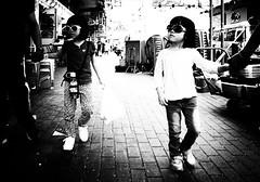 (Kunotoro) Tags: china street city people urban bw streets girl monochrome children asian photography hongkong blackwhite asia chinese streetphotography streetlife gr soe asiapeople stphotographia streetpassionaward blackwhitepassionaward flickrtravelaward