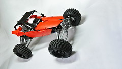 Lego Technic Buggy (hajdekr) Tags: auto terrain car wheel automobile ride lego suspension wheels platform creation technic vehicle chassis buggy base solution crawler moc shockabsorber selfsupporting carchassis myowncreation selfsupportingchassis