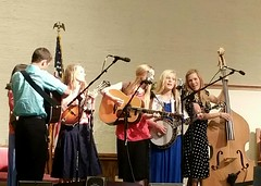 """I am Weak, but You are Strong"" (The Kingery Family) Tags: family pink blue red music white green mom fun grey dad purple singing baseball bluegrass brothers bass guitar sister group navy smiles mandolin banjo siblings indoors harmony fiddle kingery mic baccalaureate"