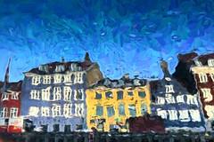 Upside-Down-Nyhavn-Renoir (Ivan Naurholm. thanks, for more than 500.000 views) Tags: art look copenhagen painting denmark nyhavn ivan down upside alike renoir lookalike photobyivan