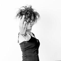 Nath Studio 1 (Olivier DESMET) Tags: portrait blackandwhite bw woman monochrome canon studio eos 50mm f14 femme nath noirblanc 6d hightkey strobists olivierdesmet