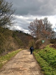 Eifel (maramillo) Tags: people nature walking path figure behind scape cy tcf unanimous friendlychallenges