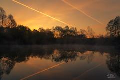 Morning has broken .... (ClaudiB.) Tags: sunset sea sun nature water fog reflections landscape wasser nebel natur sonnenaufgang sonnenstrahlen sonnenlicht